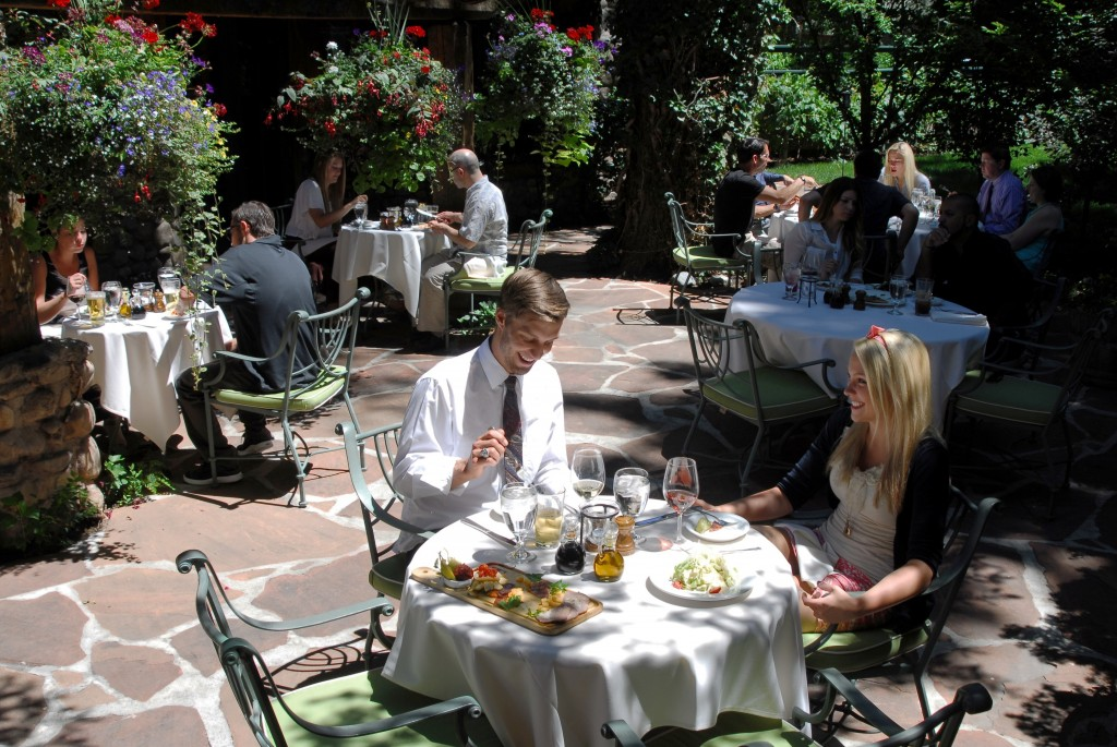 Tuscany Salt Lake City Outdoor Dining