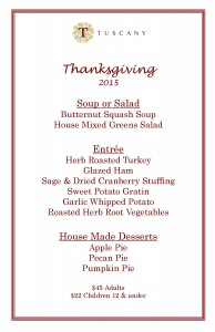 Tuscany Thanks Giving Menu website 2015